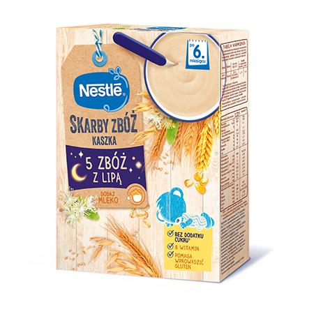 Skarby zbóż Kaszka Nestle