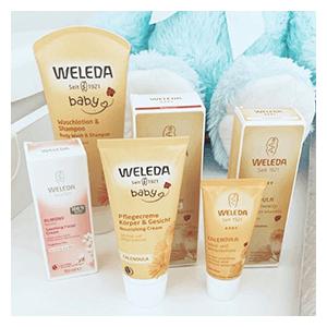 Zdjecie influencerki dwa_szczescia_matki z produktami Calendula Baby