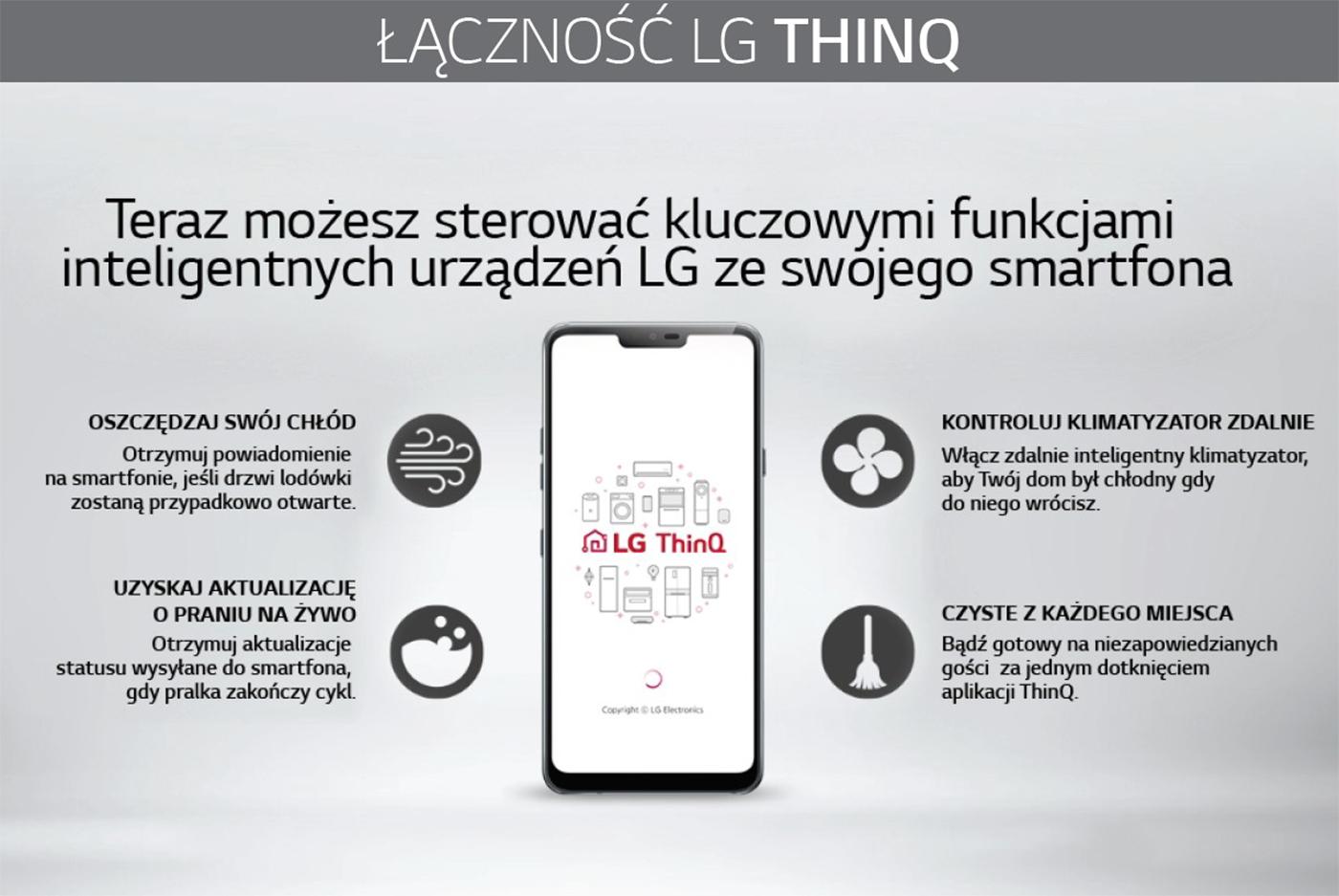 Poznaj funkcje aplikacji LG ThinQ