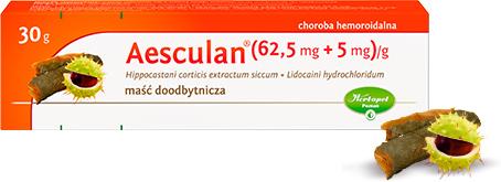 Maść doodbytnicza Aesculan 30g